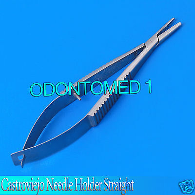 Micro Castroviejo Needle Holder 3.5 Straight Without Lock Surgical Instrument