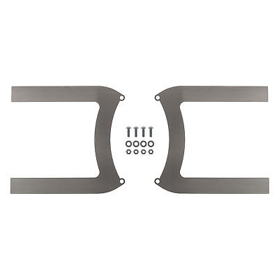 REVOTEC ELECTRIC FAN BRACKET SET PAIR 280MM MILD STEEL - RFB280MS