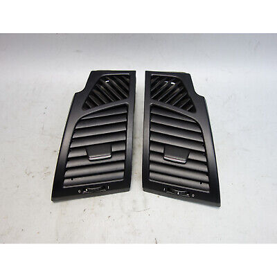 2008-2013 BMW E82 E88 1-Series Front Dashboard Side Fresh Air Vent Pair OEM
