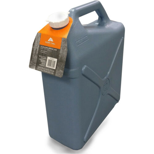 6 Gallon Water Carrier Jug Plastic Container, Camping, Hiking, Hunting