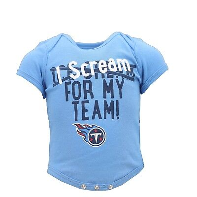Tennessee Titans NFL Official Apparel Infant Baby Creeper Bodysuit New with -
