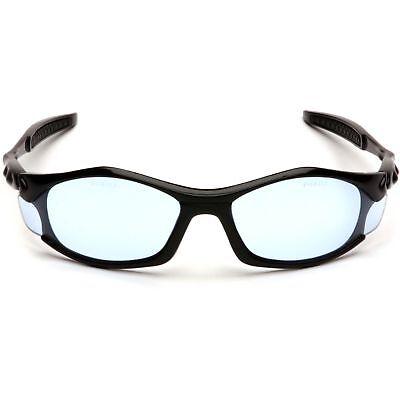 Pyramex Solara Safety Glasses with Blue Lens, Black (Solara Glasses)