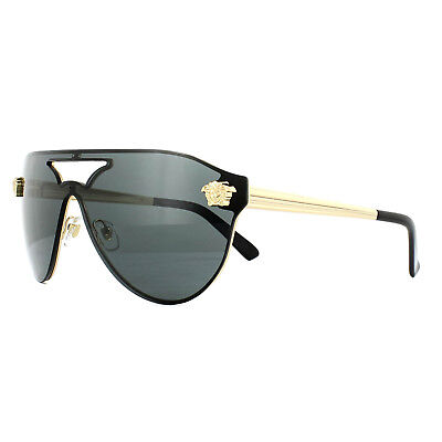 Versace Sunglasses VE2161 100287 Gold Black Grey