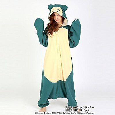 The Official Sazac Kigurumi Pajamas Snorlax Costume Pokemon Snorlax Cosplay (Snorlax Cosplay Kostüm)