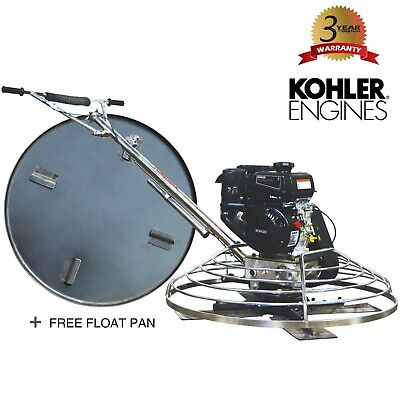 Power Trowel 6hp Kohler 36 Float Pan Screed Edge Cement Concrete Finishing Tool
