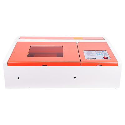 High Precision Usb 40w Co2 Laser Engraver Cutter Machine Upgraded Control Board