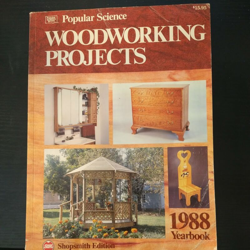 POPULAR SCIENCE WOODWORKING PROJECTS 1988 YEARBOOK 182 pages