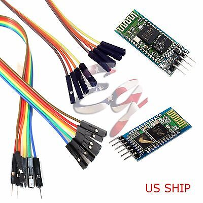 Wireless Rf Transceiver Bluetooth Module Hc-05 Hc-06 Combo Master Slave Arduino
