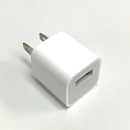 Original Apple 5W USB Power Cube Charger iPhone X XS XR 11 Pro Max Authentic