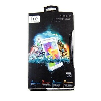 LIFEPROOF CASE FOR SAMSUNG GALAXY S5 FRE SHOCK WATER PROOF GENUINE WHITE 2401-02 (Lifeproof Case Samsung Galaxy S5)