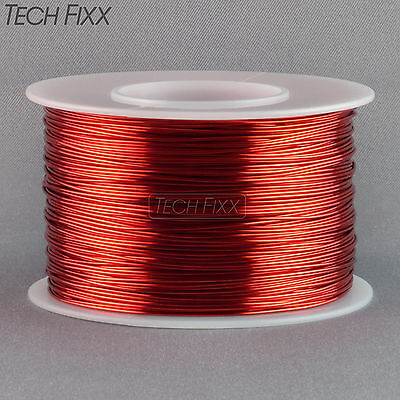 Magnet Wire 22 Gauge Awg Enameled Copper 245 Feet Coil Winding And Crafts Red