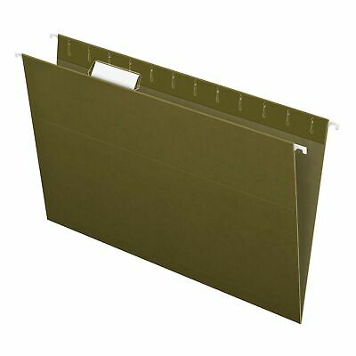 Pendaflex Recycled Hanging Folders Legal Size Standard Green 15 Cut 25b...