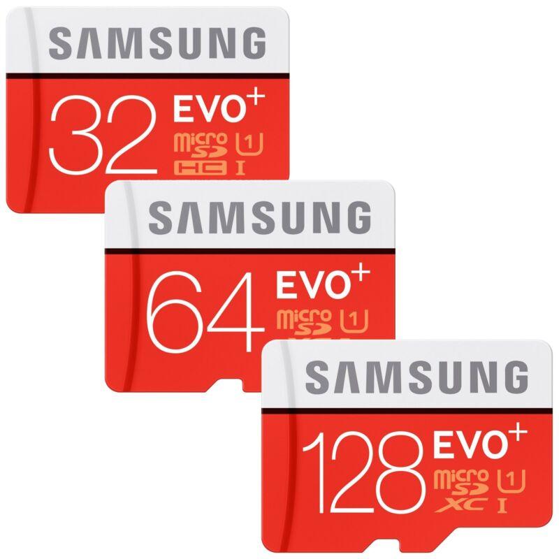 32/64/128GB Samsung EVO plus Micro SD SDHC/SDXC CLASS 10 Speicherkarte