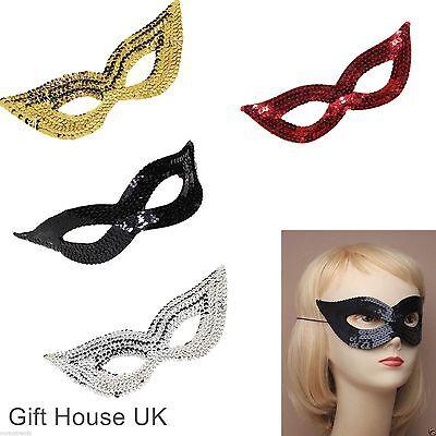 Sequin Eye Mask Masquerade Women Girls Kids Face Mask For Party Fancy Dress - Masquerade Dresses For Girls