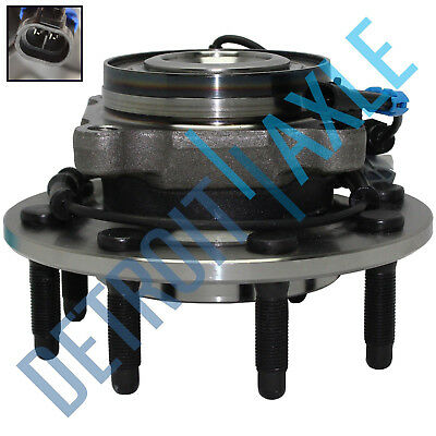 Front Wheel Bearing & Hub for 08-10 Chevy Silverado GMC Sierra 2500 HD 3500 4x4