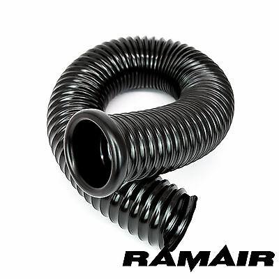 Ramair Cold Air Feed Ducting 76mm ID x 750mm - 1 End Cap