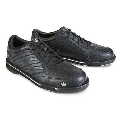 Team Brunswick Black Men's WIDE Bowling Shoes