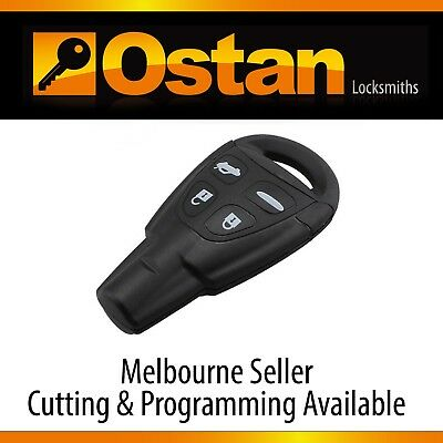 Complete Key & Remote to suit SAAB 9-3  9-5, 2003-2011 (Aftermarket)