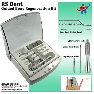 Rs Dental Implant Surgical Guided Bone Regeneration System Gbr Instrument Tool