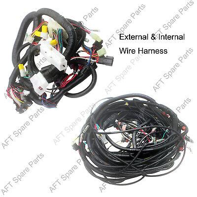 Aftermarket Complete Wire Harness 0001049 0001044 For Hitachi Ex120-2 Excavator