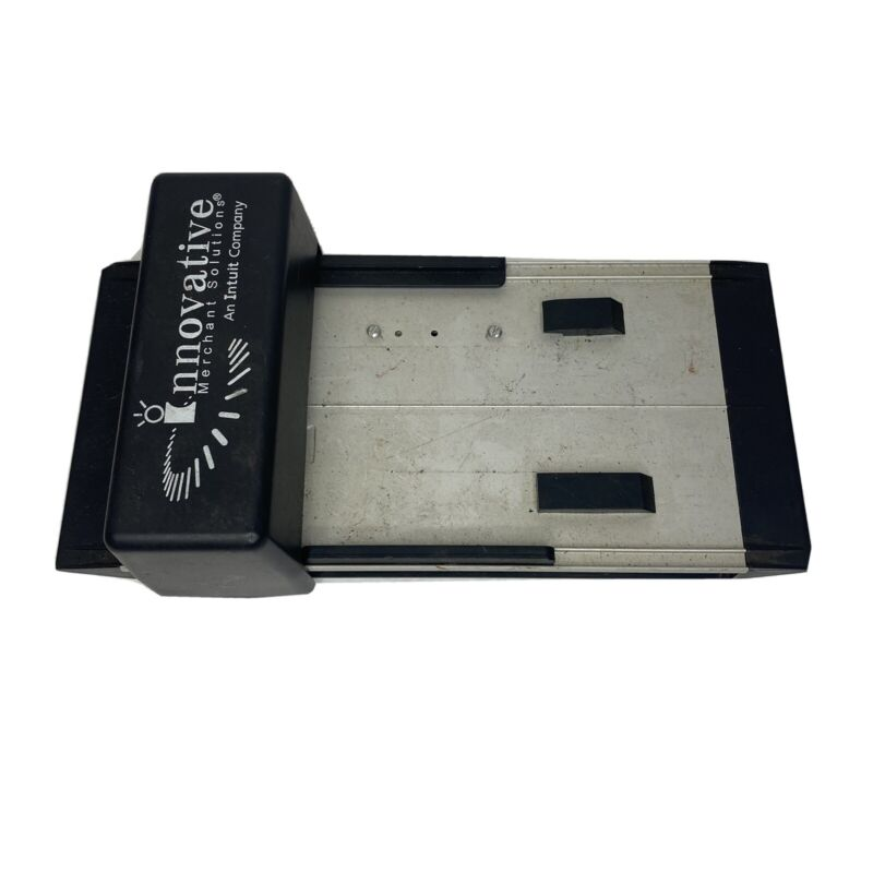 Vintage Manual Credit Card Imprint Machine Data Systems Innovative Merchant