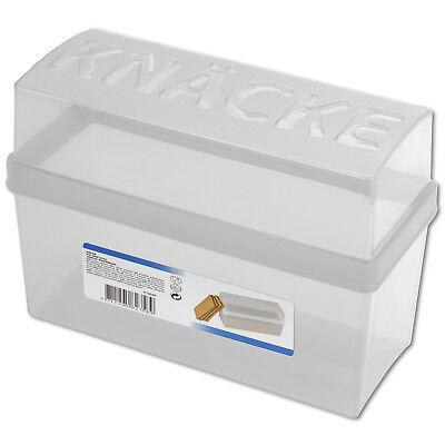 Knäckebrotdose Knäckebrotbox Knäckebrot Box Brotbox Brotkasten Knäcke Brot NEU