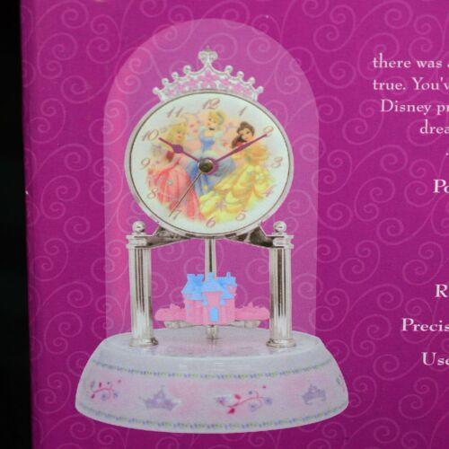 Disney Castle Princess Anniversary Dome Clock new in box