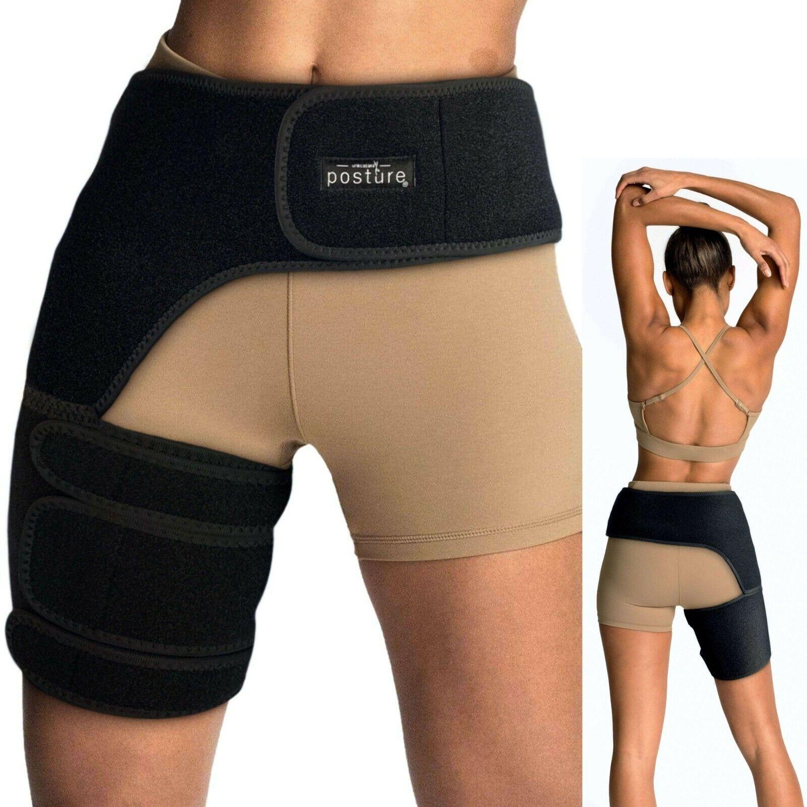 Groin Hip Brace | Sciatica Support Wrap | Hamstring Compress