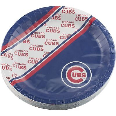 Chicago Cubs Birthday Party Supplies 20 Paper Plates 9.75