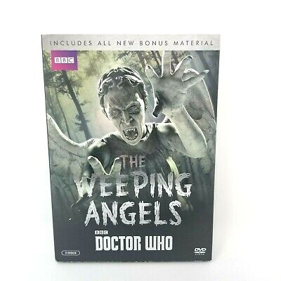 Doctor Who: Weeping Angels DVD, David Tennant, Matt Smith, Peter Capaldi,Bonus F