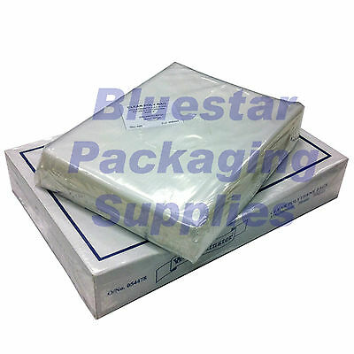 100 x Clear Polythene Food Bags 18