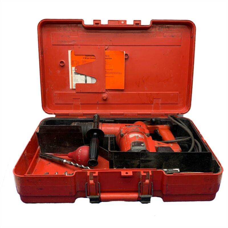 HILTE TE72 HAMMER DRILL w/CASE AND ACCESSORIES