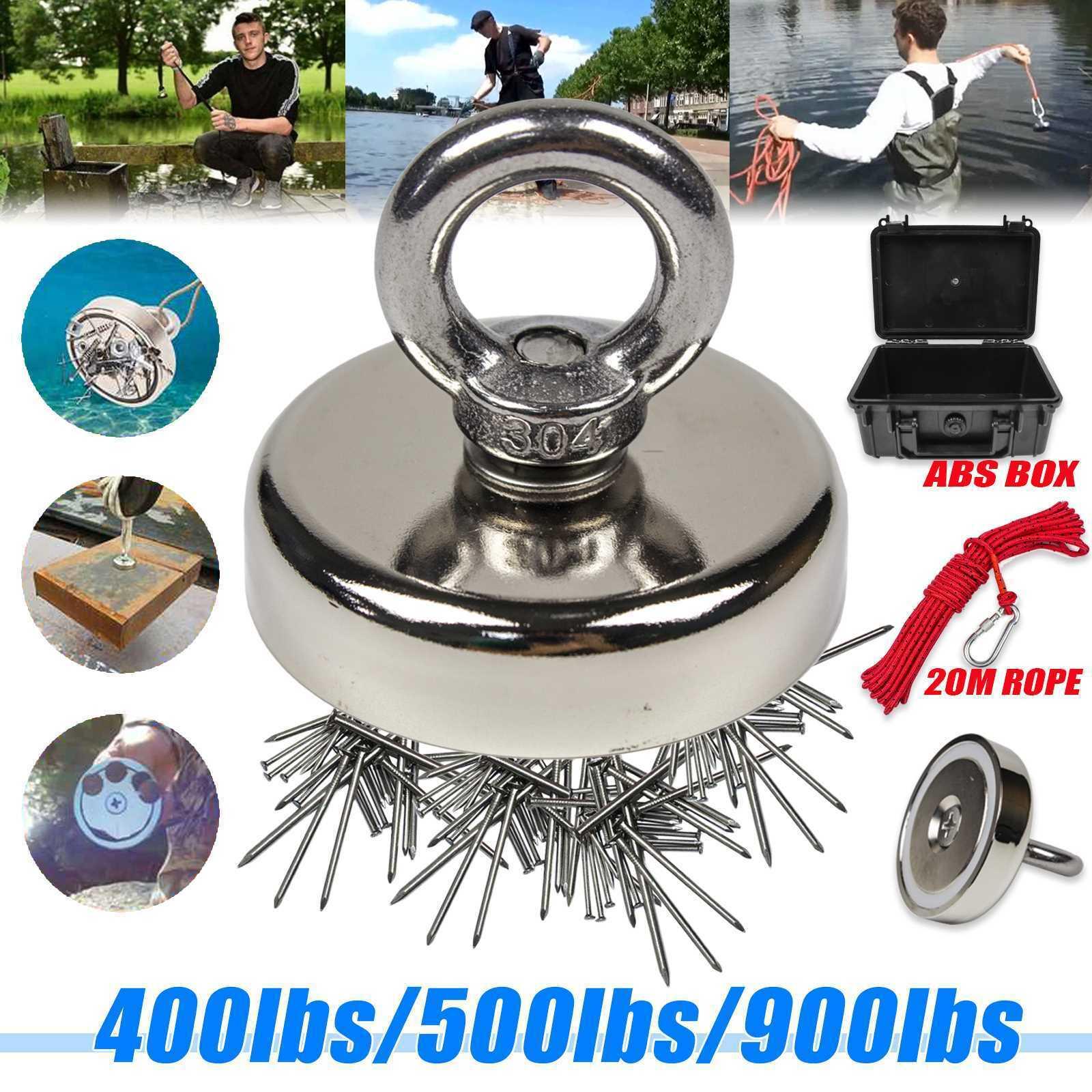 FISHING MAGNET 400/500/900 LB Super Strong Neodymium Round E