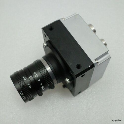 BASLER Line Scan Camera USED raL2048-48gm, TV LENS 12mm 1:1.4 OPT-I-505=P108