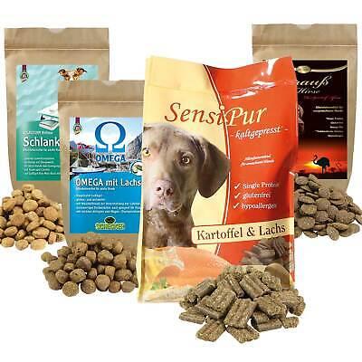 Premium II - Testpaket für ausgewachsene Hunde 4 Sorten Trockenfutter zum Testen