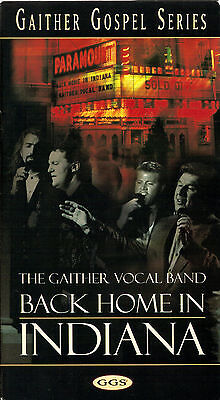 """THE GAITHER VOCAL BAND...""""BACK HOME IN INDIANA""""....LIVE GOSPEL CONCERT VHS VIDEO for sale  Fresno"""