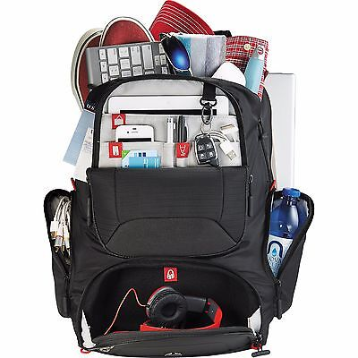 """elleven™ Mobile Armor 17"""" Computer Backpack executive travel TECH engineer PRO"""