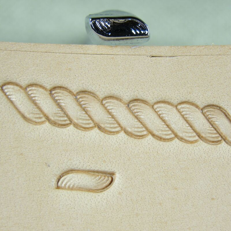 Japan Select - #R959 Small Rope Border Stamp (Leather Stamping Tool)