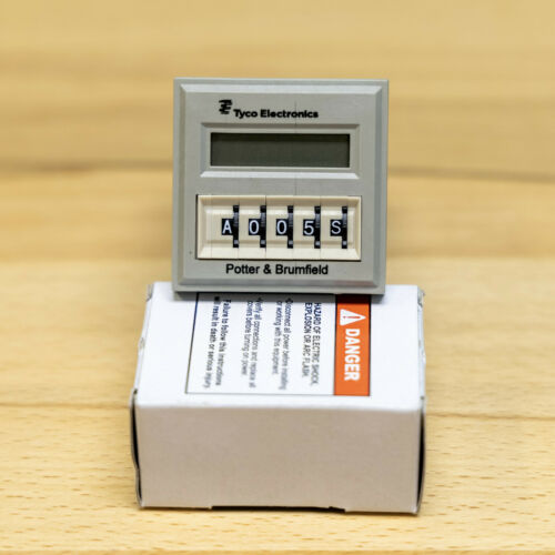 New POTTER & BRUMFIELD  CNT-35-96 Time Delay Relay 10 Amp 9990 Hour  24 Volt