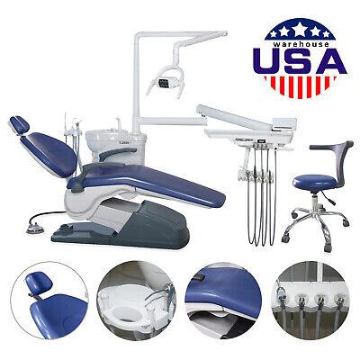 Fda Dental Chair Unit Computer Control Hard Leather Exam Chair Stool Tj2688-a1