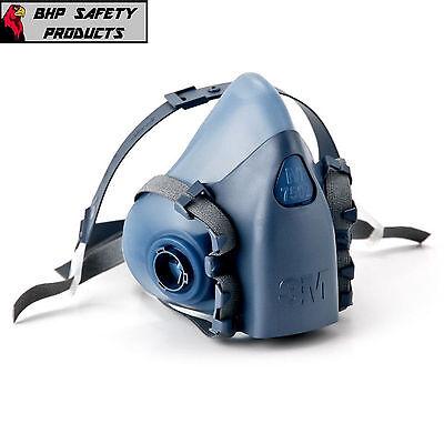 3m 7500 Series Half Mask Reusable Premium Silicone Respirator Size Medium 7502