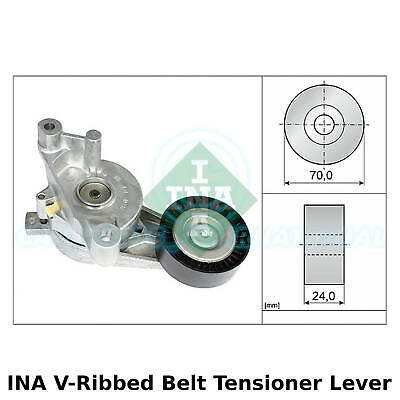 Aux Belt Tensioner 534012320 INA Drive V-Ribbed 030145299C 030145299F Quality