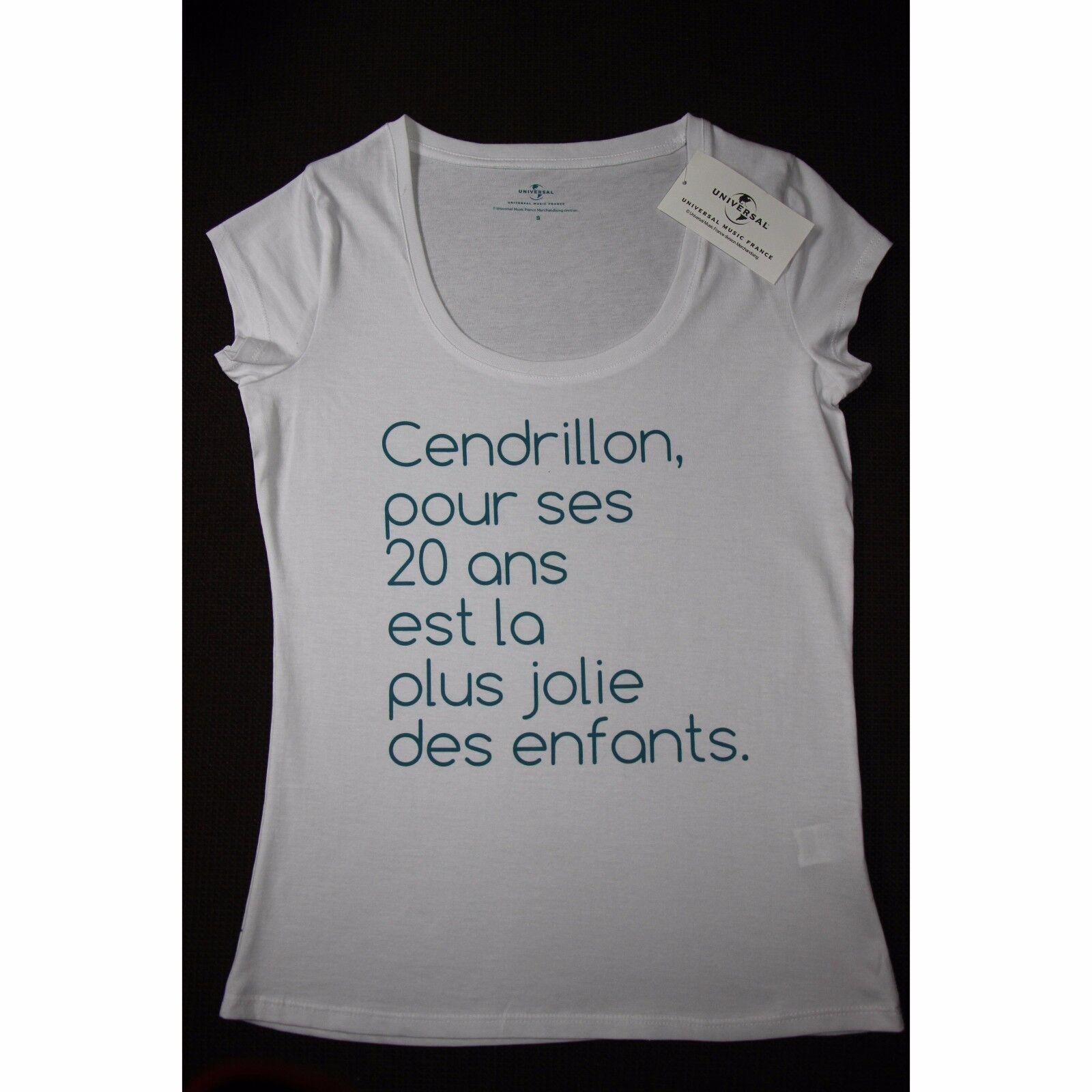 T-shirt CENDRILLON 20 ans