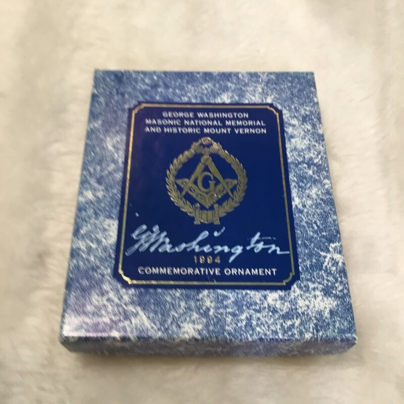 George Washington Masonic National Memorial and Historic Mount Vernon ornament