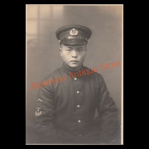 WW2 Young soldier of the Imperial Japanese Naval Air Force (Original Photo)
