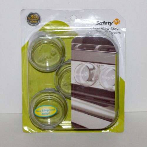 Safety 1st Clear View Stove knob Covers set of 5 child proof NEW