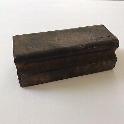 Vintage Solid Wood Letterpress Proof Planer