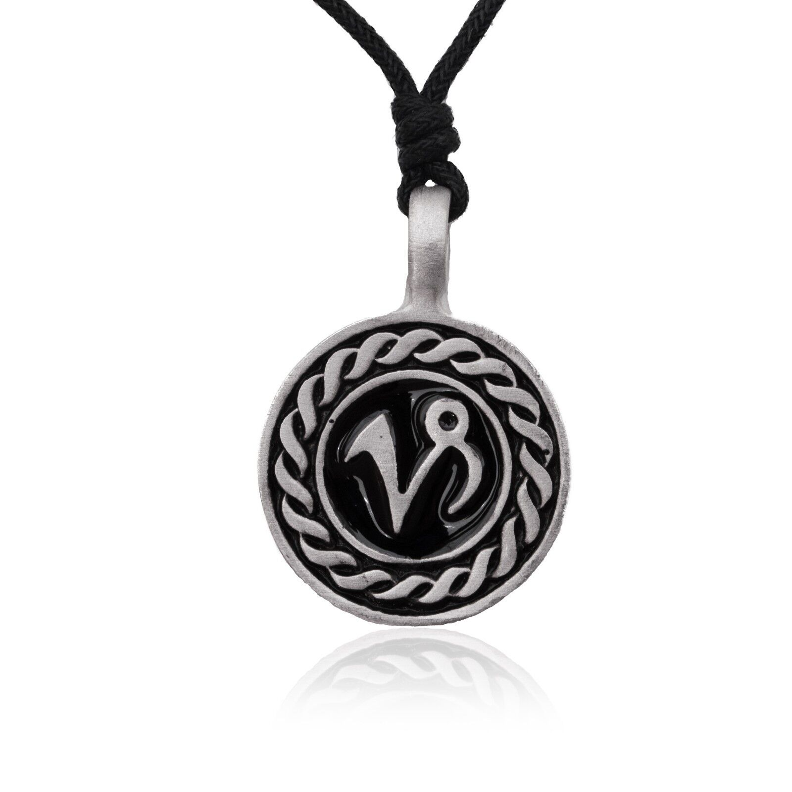 Astrology Necklace Pendant Zodiac Horoscope Jewelry Quality Fine Silver Pewter