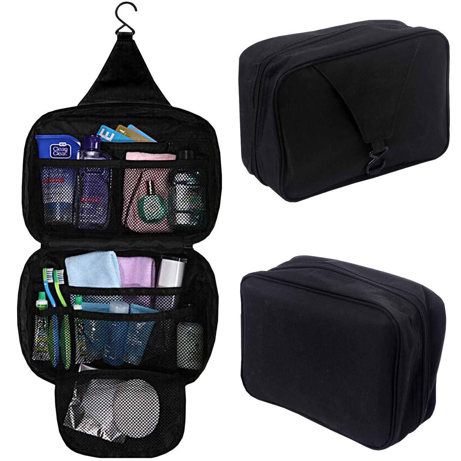 Men Toiletry Travel Bag Shave Kit Organizer Dopp Shaving