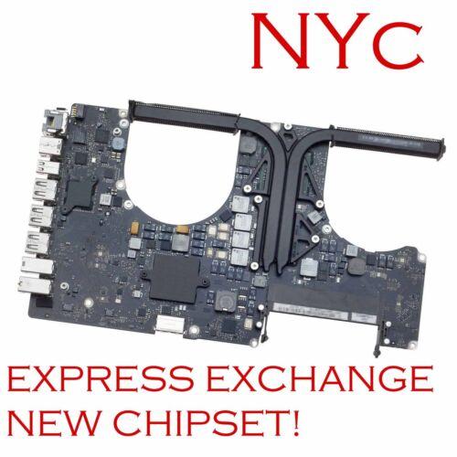 "EXCHANGE MACBOOK PRO 17"" A1297 820-2914-B 2011 LOGIC BOARD REPAIR NEW GPU REBALL"